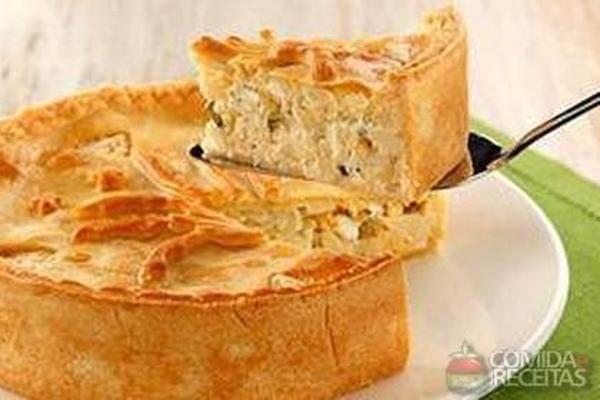 Receita de Torta de palmito pupunha - Comida e Receitas