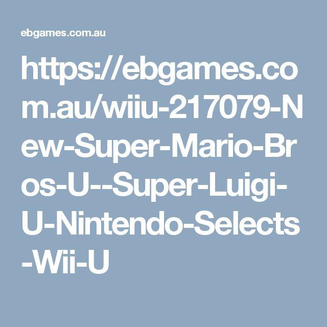7. Super Mario Bros. U / Super Luigi U  AUD $49.95