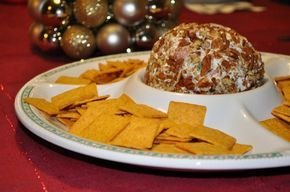 Holiday Jalapeno Cream Cheese Ball Recipe - It's my most request recipe, but his one has a great kick. I can't wait to try it.