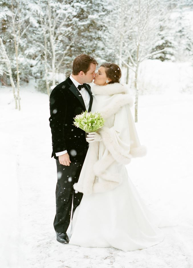 winter wonderland wedding south africa%0A White fur coat and gown perfect for a winter wonderland white wedding