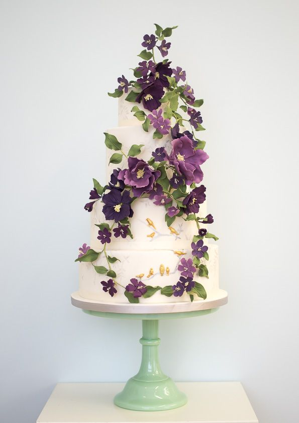 The winter collection from one of England's finest wedding cake designers: inspired by Russian jewellery boxes, folklore and nature. Rosalind Miller Cakes