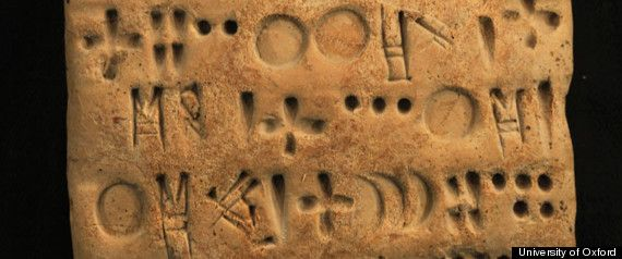 The ancient writing from what is now sw Iran, called proto-Elamite, was used during the Bronze Age between 3200 BC and 2900 BC but has defied decipherment. Although proto-Elamite was borrowed from neighboring Mesopotamia, its scribes devised their own symbols that have made it all but undecipherable for millennia.