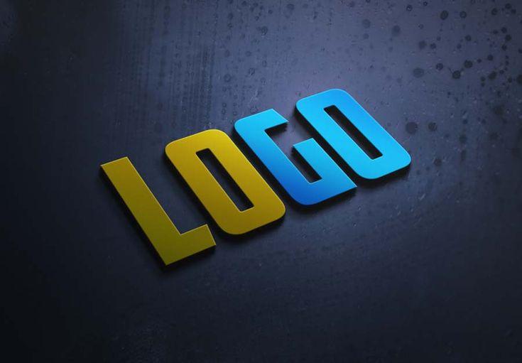 Get Top 10 Unique 3d Logo Mockup Psd Files Bundle Logo Mockup Logo Mockups Psd Free Logo Mockup