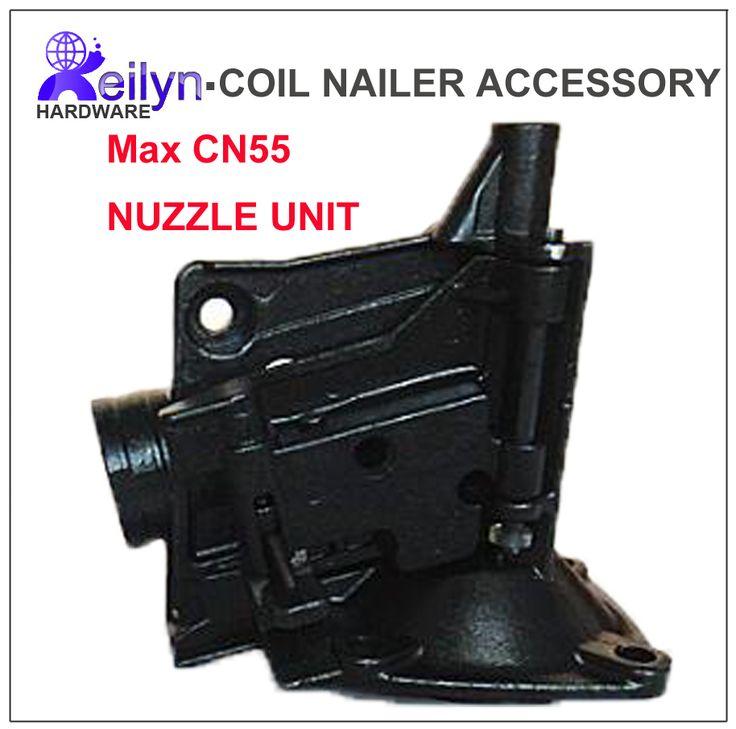 CN55 Nose Unit Nuzzle Set Nailer Parts For Nail Gun Max CN55 Coil Nailer  Accessory Max