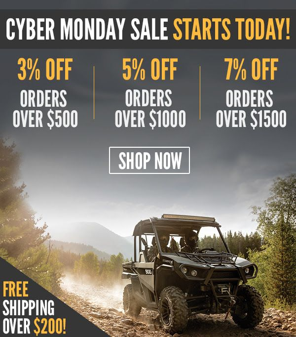 ORDER NOW and STOCK UP for these Black Friday and Cyber Monday Deals