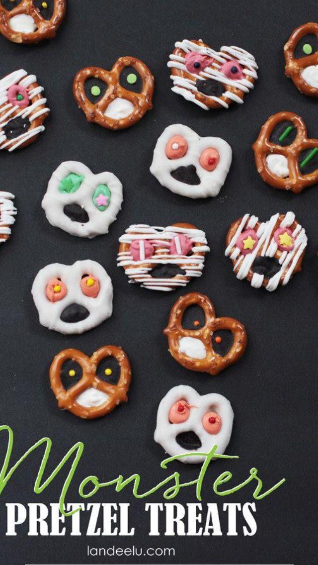 Monster pretzels