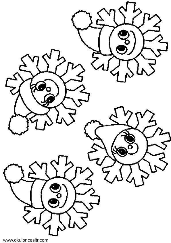 Kış mevsimi yıldız kalıbı ve yıldız boyama sayfası ve etkinlikleri çalışma sayfası örnekleri ile kış mevsimi boyama etkinliği sayfaları, winter coloring pages free printable bilgisayara indirme pdf, resimleri indirme ve yazdırma okul öncesi anasınıfı web sitesi.