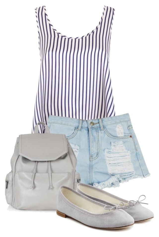 """""""La tempestad ep 5"""" by xrisavladi ❤ liked on Polyvore featuring Violet & Wren, Topshop and Repetto"""