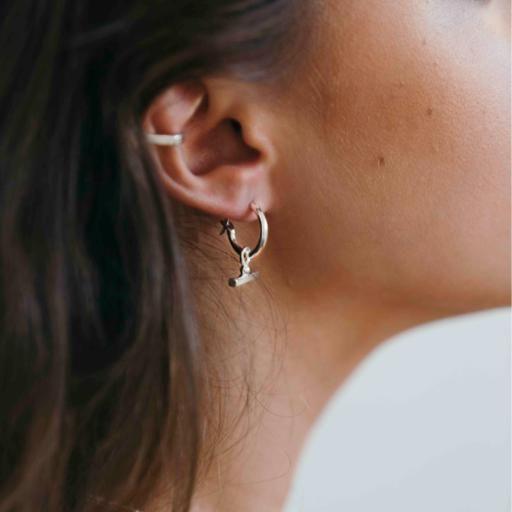 Chloè Sleepers - Sterling Silver - Flash Jewellery