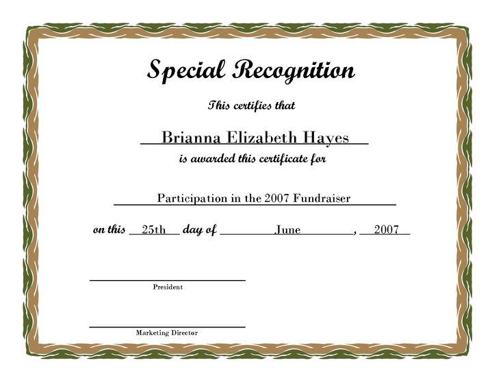 Free Printable Award Certificate Borders | Free Printable Certificate ...