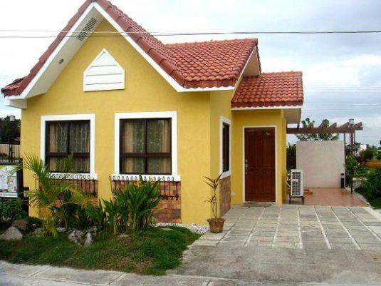 Casas sencillas pero bonitas inspiraci n de dise o de - Jardines de casas pequenas ...