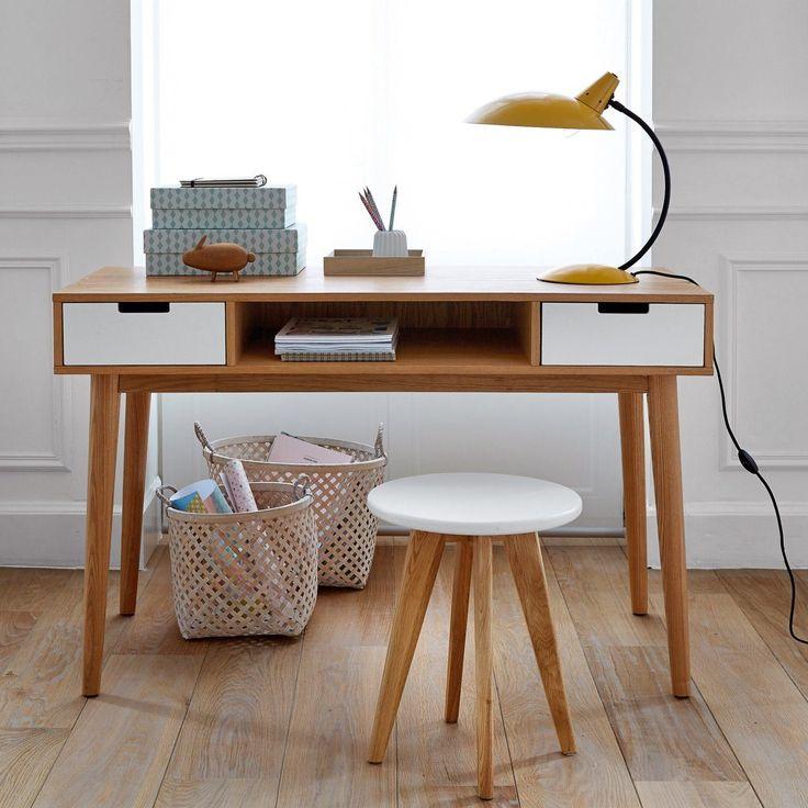 Candeeiro de mesa em metal vintage, rosella La Redoute Interieurs | La Redoute