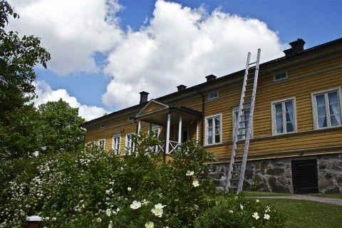 The home of Finland´s natioanal poet,  J. L. Runeberg.