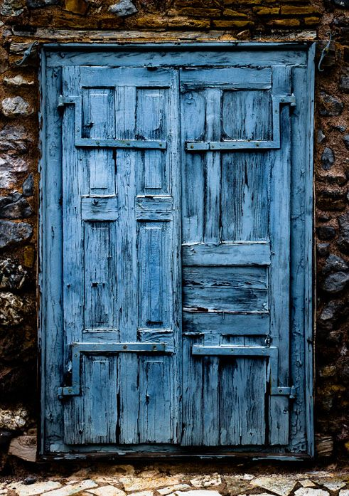 Found a light blue door that led to a different country. I kept going in and saving something like slaves or puppies hahaa. Whoever lived on the other side kept trying to catch me and would chase me out.