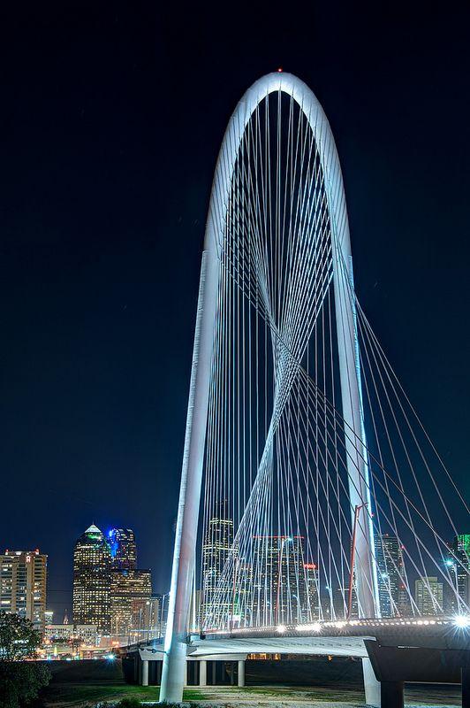 Margaret Hunt Hill Bridge, Dallas - Newest Dallas Lamdmark