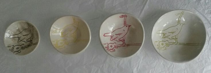 Protea Collection bird bowls