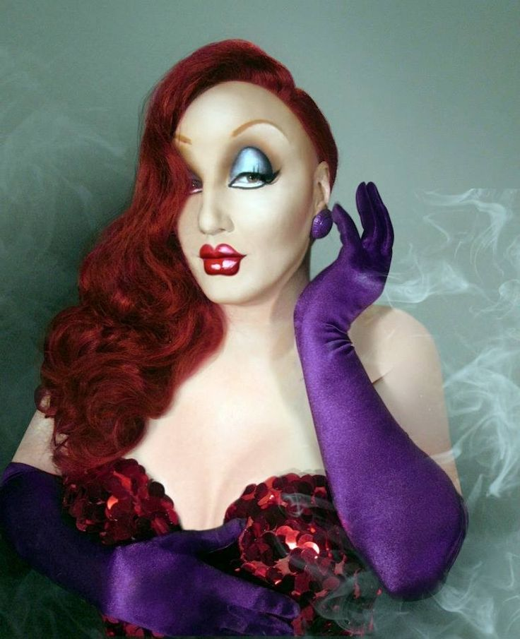 James St. James as Jessica Rabbit done by Manila Luzon