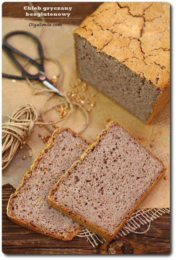 Chleb gryczany bezglutenowy  Przyszła pora na trzeci chleb gryczany bezglutenowy. Bardzo lubiany przez moją rodzinę chleb gryczany bezglutenowy jest pyszny i aż warto sięgnąć po przepis na niego. Generalnie chleb bezglutenowy przygotowuję dość regularnie w zaciszu