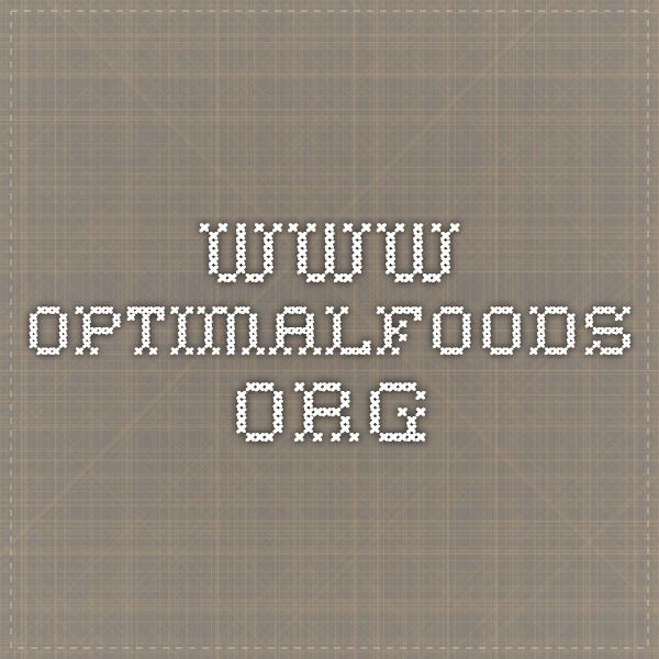 www.optimalfoods.org