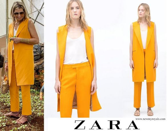 ZARA Vest and Trousers