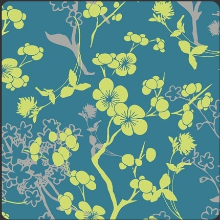 Bright Silhouettes Spellbound: Quilts Fabrics, Galleries Voile, Bright Silhouette, Galleries Fabrics, Branches Silhouette, Silhouette Blue, Galleries Spellbound, Art Galleries, Fabrics Art
