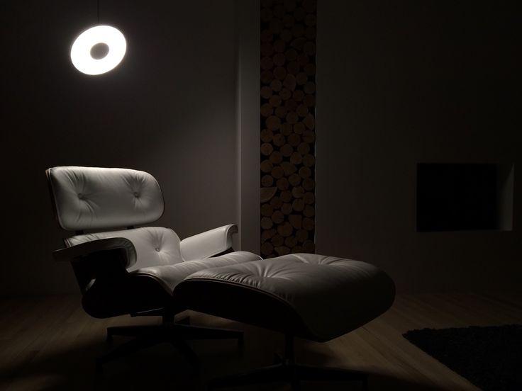 ✖️ Vardagsrum ✖️ Pendant Light • Pablo Designs • Circa • Lounge Chair • Herman Miller • Eames