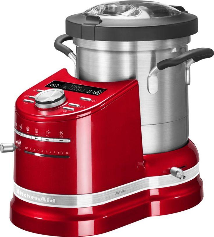 Robot cuiseur KITCHENAID Cook Processor 5KCF0103ECA CHAUFFANT prix promo Robot multifonction Boulanger 999.00 €