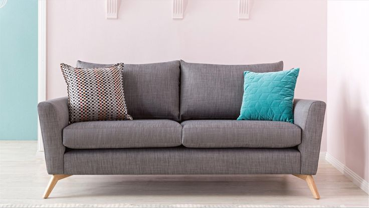 Home :: Furniture :: Lounges :: Fabric Lounges :: Scandi Fabric Sofa
