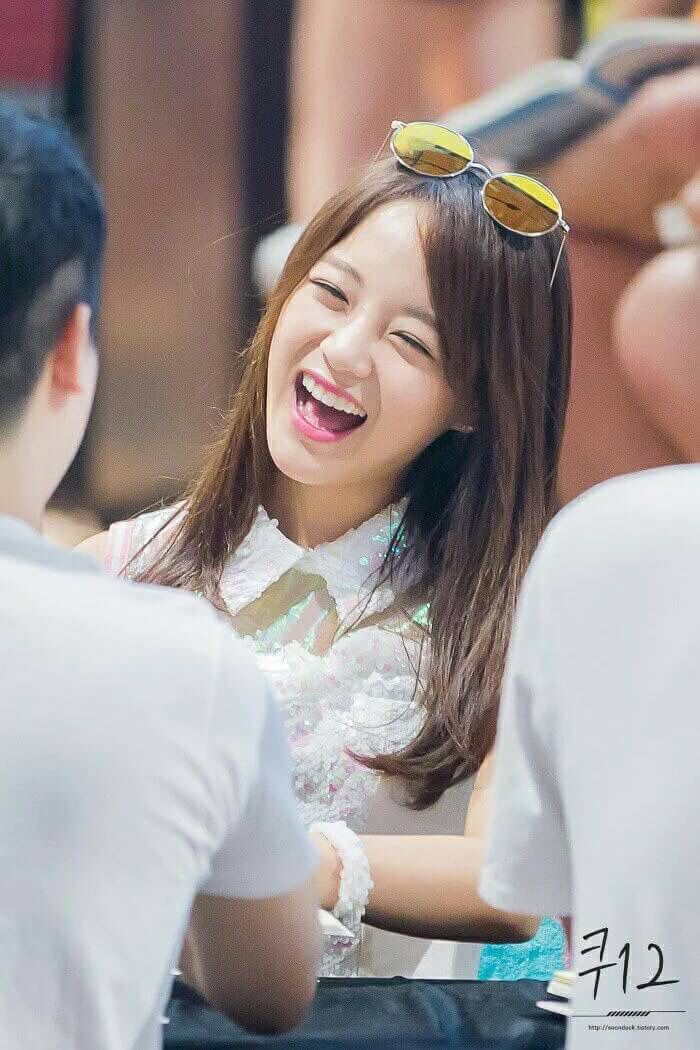 Kim Sejeong @ Gangnam Fansign with Gugudan