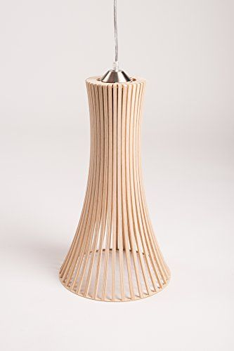 Mk design plafonnier lustre suspension en bois kavia xl for Plafonnier en bois