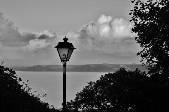 Lamp With a View