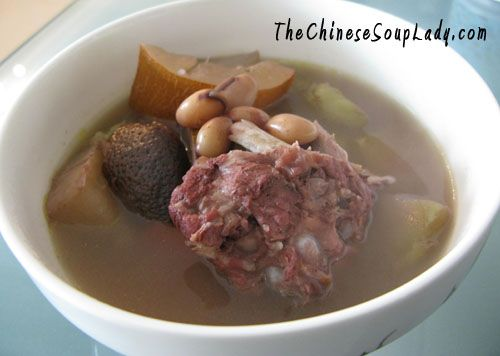 The Chinese Soup Lady & Chinese Soup Recipes » Blog Archive » Old Cucumber Soup with Azuki Beans and Lentil