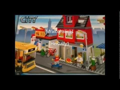 Lego 7641 Review City Corner City