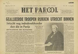 tweede wereldoorlog krantenartikel -
