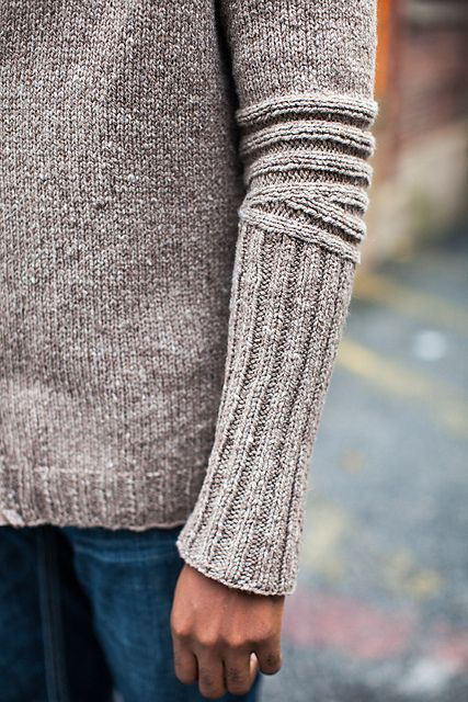 Ravelry: Chicane pattern by Cookie A, Brooklyn Tweed Wool People Vol. 4 pattern book.