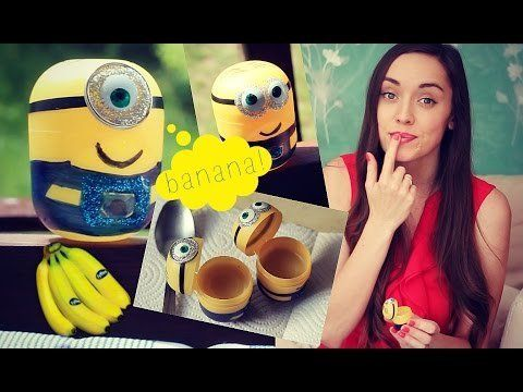 Minions Banana Lipbalm - DIY - Patty Sway
