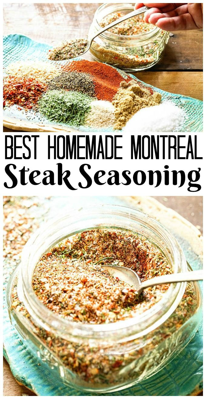 Montreal Steak Seasoning Recipe Recipe Season Steak Recipes Seasoning Recipes Montreal Steak Seasoning Recipe