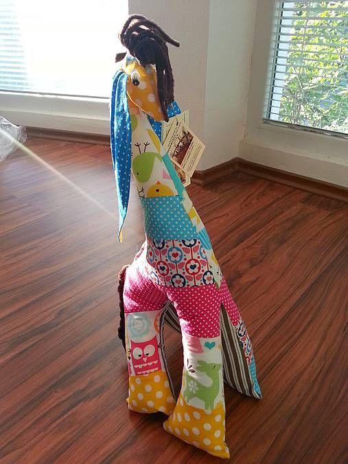 HEDERVIGA / Žirafka úšatá - vysoká 50 cm skladom