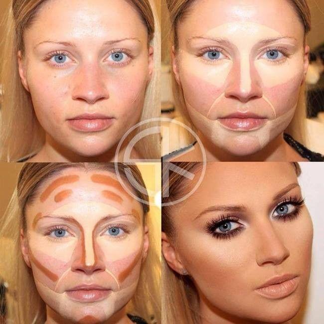 Megmutatjuk nektek az összes létező arcformát és a hozzájuk tartozó tökéletes sminkelés minden csínját - bínját teljesen egyértelműen és részletesen fotókkal lépésről lépésre. Nincs szükséged többé profi sminkesre, mikor Te magad is az lehetsz :) Próbáljátok ki Ti is! :) 8