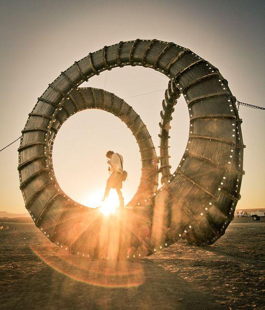 Africa Burn 2011 | sculpture byt TNT | photo by Gavin Coetzee, via Flickr