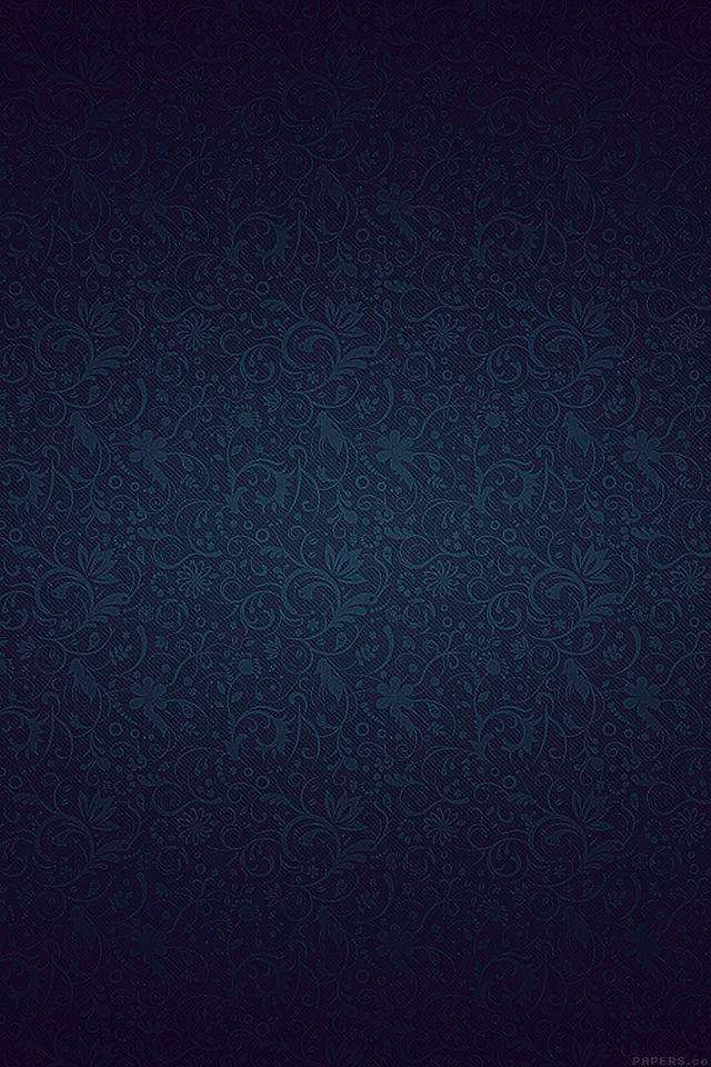Vf81 Dark Blue Ornament Texture Pattern Via Phone Wallpapers