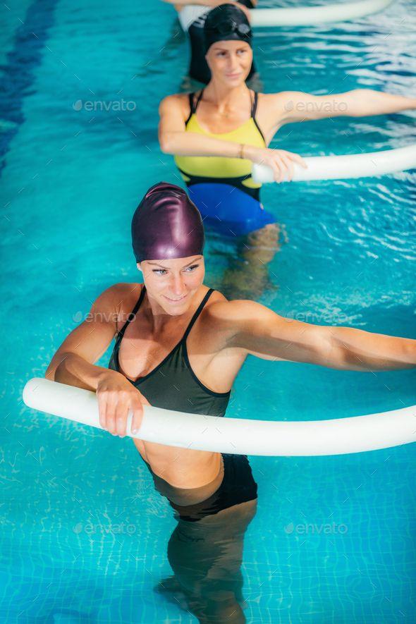 Aqua Fitness In Water Sport Centre Aqua Fitness Water Sports Aerobics Workout