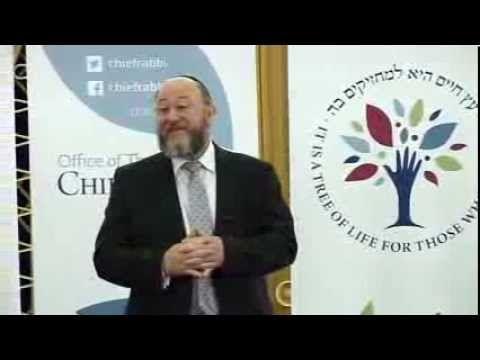 Chief Rabbi's Purim Shiur 2014