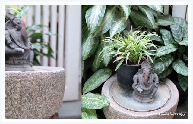 Indian home- ganesha garden decor