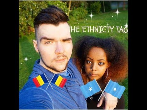 INTERRACIAL ETHNICITY TAG video  Halima and Rares Interracial Couple ✔