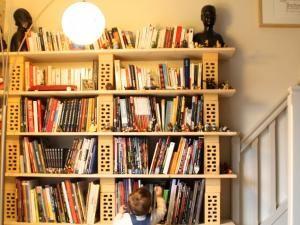 17 meilleures id es propos de dressing modulable sur pinterest amenagemen - Construire une bibliotheque ...