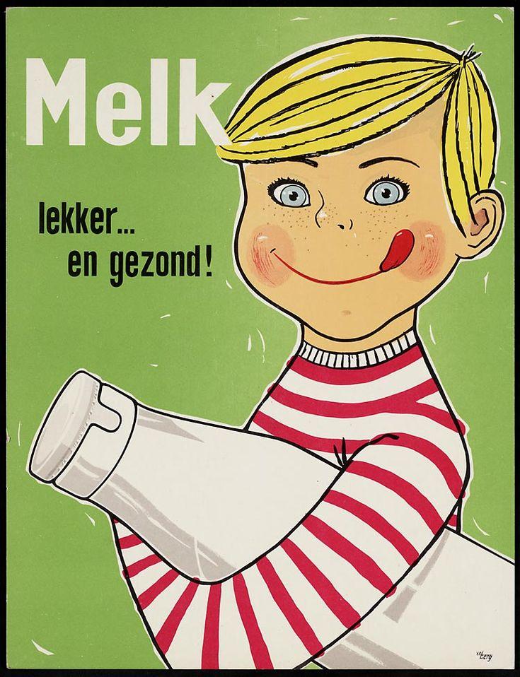 Melk lekker...en gezond!