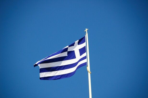 Greek flag...Greek history