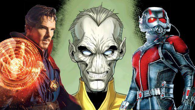 Infinity War Set Photos Feature Paul Rudd Doctor Strange in Trouble
