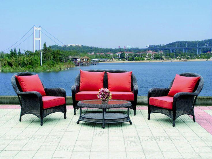 Комплект Садовый рай (стол+диван+кресло*2)